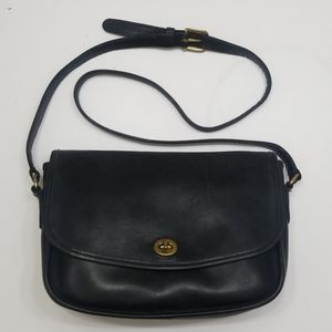 Coach Vintage City Bag Flap Turnlock Crossbody
